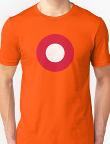 Roundel of the Royal Danish Air Force Unisex T-Shirt