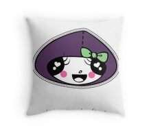 Mini Cuties with ribbon Throw Pillow