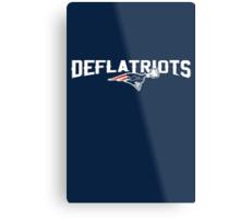 Deflatriots Metal Print