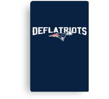 Deflatriots Canvas Print