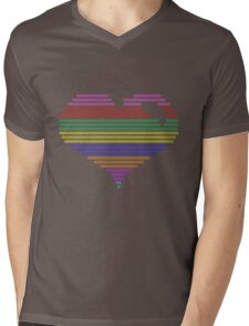 color my heart ! Mens V-Neck T-Shirt