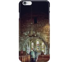 C12 church at Holy Isle Lindisfarne Northumbria England 19840529 0039  iPhone Case/Skin