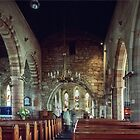 C12 church at Holy Isle Lindisfarne Northumbria England 198405290039  by Fred Mitchell