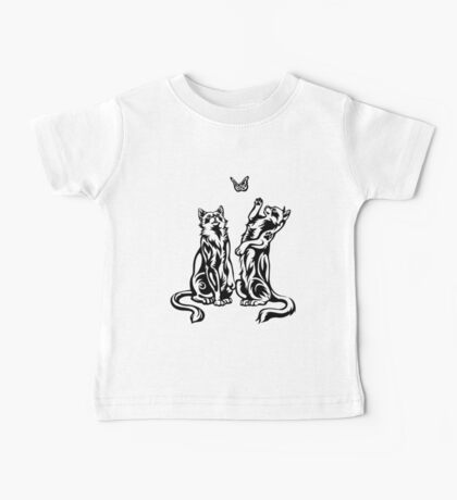 Playful Cats Baby Tee