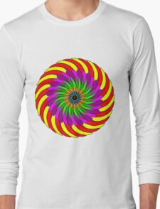 Colorful T-shirt Long Sleeve T-Shirt