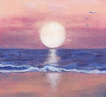 Flagler Beach Dream by Roz Abellera Art Gallery