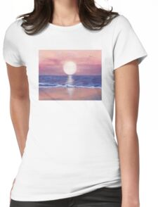 Flagler Beach Dream Womens Fitted T-Shirt