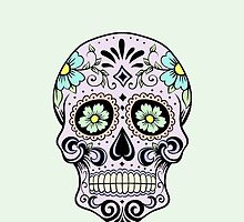 Single sugar skull 3 by AnnabelStar