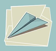 Paper Airplane 83 by YoPedro
