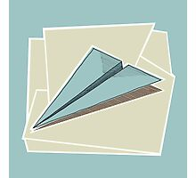 Paper Airplane 83 Photographic Print