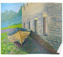 Convict ruins, Norfolk Island Poster