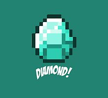 Diamond! Minecraft by janeemanoo