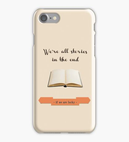 If We Are Lucky - 2 iPhone Case/Skin