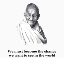 Mahatma's Words T-Shirt