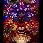 Five Nights at Freddys by Steff Egan