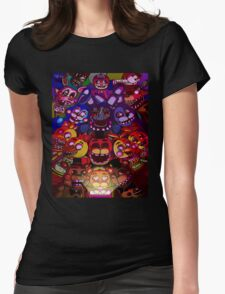 Five Nights at Freddys Womens Fitted T-Shirt