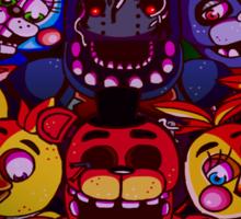 Five Nights at Freddys Sticker