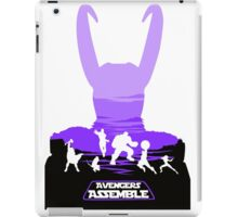 Avengers Assemble Poster Design iPad Case/Skin
