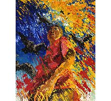 Pallet Knife Pete Photographic Print