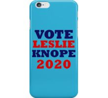 Vote Leslie Knope 2020 Campaign iPhone Case/Skin