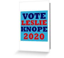 Vote Leslie Knope 2020 Campaign Greeting Card