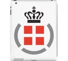 Danish Armed Forces Logo  iPad Case/Skin