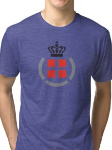 Danish Armed Forces Logo  Tri-blend T-Shirt