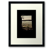 Personal TV Framed Print
