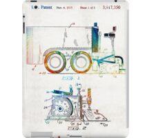 Hockey Art - Zamboni Patent - Sharon Cummings iPad Case/Skin