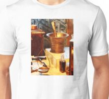 Brass Mortar And Pestle Unisex T-Shirt