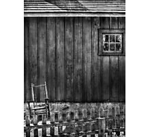 Old Rocking Chair Photographic Print