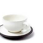 Cup and Saucer by Richard Heyes