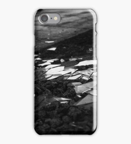 Shattered Glass by Sidewalk iPhone Case/Skin