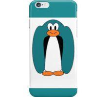 blurred penguin iPhone Case/Skin