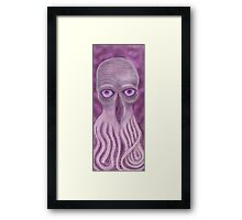 Open Your Third Eye to the Ood Framed Print