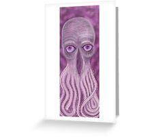 Open Your Third Eye to the Ood Greeting Card