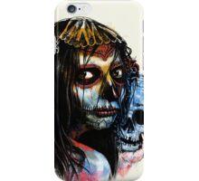 la muerte - lady death iPhone Case/Skin