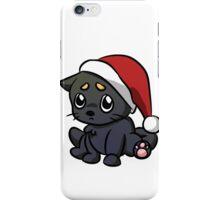 Sad Christmas Cat iPhone Case/Skin