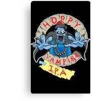 Hoppy Vampire IPA - Wild Pub Crawl Edition Canvas Print