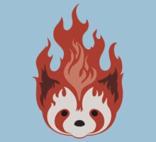 Legend of Korra Fire Ferrets - small icon Kids Tee