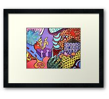 Patch With Signature Framed Print