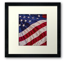 Stars and Stripes Framed Print
