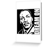 MLK-4 Greeting Card