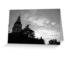 Annapolis, Maryland State House Greeting Card