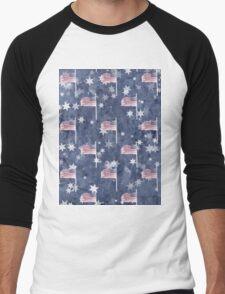 American Flag Aglow, star spangled pattern T-Shirt