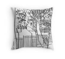 Surry Hills Streetscape Throw Pillow