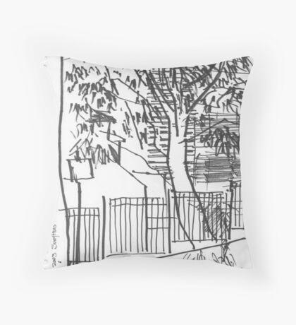 Surry Hills Streetscape Throw Pillow