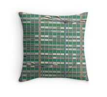 Building... Throw Pillow