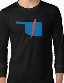 Thunder Up Oklahoma Long Sleeve T-Shirt
