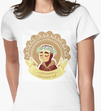 Kid Loki is a precious thing Womens Fitted T-Shirt